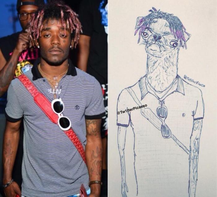 Саймир Вудс, более известный как Lil Uzi Vert — американский хип-хоп-исполнитель и автор песен. Автор: Twitter Picasso.
