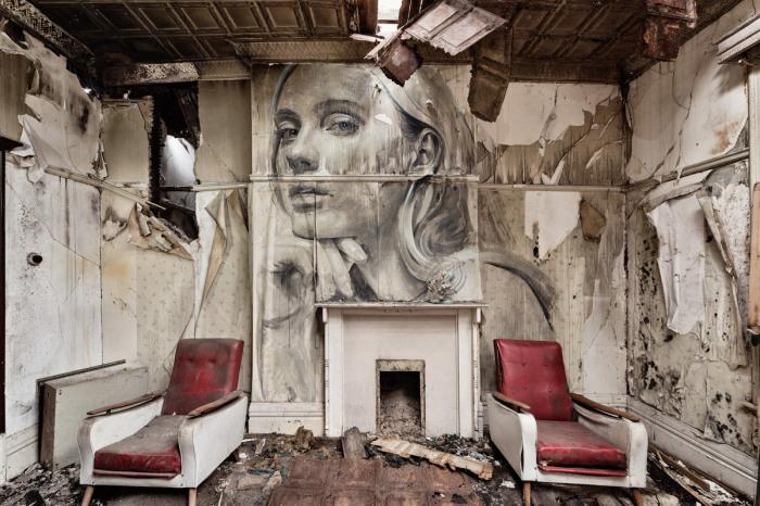 Память – это руины времени. Автор: Tyrone Wright.