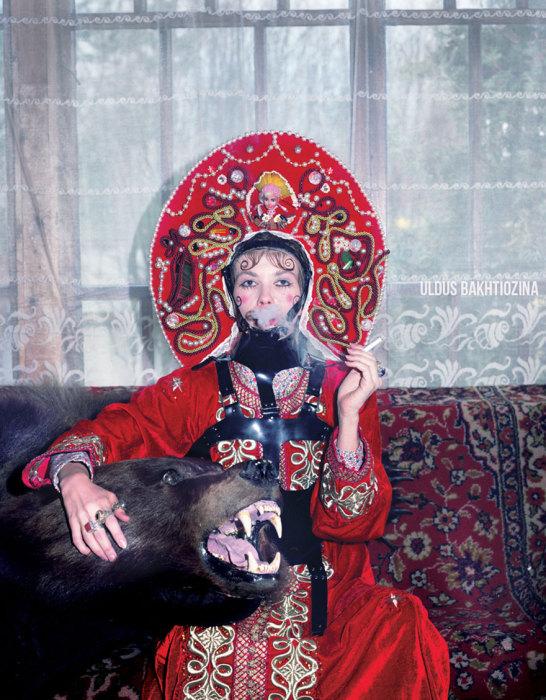 Маша и медведь. Автор фото Юлдуз Бахтиозина (Uldus Bakhtiozina).