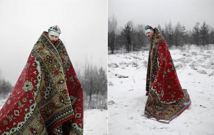 Иван-царевич. Uldus Bakhtiozina.