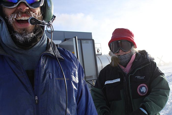 Американский ученый первым нашёл свою пару в Антарктиде.