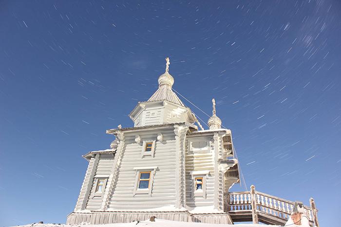 В Антарктиде есть семь Христианских церквей.