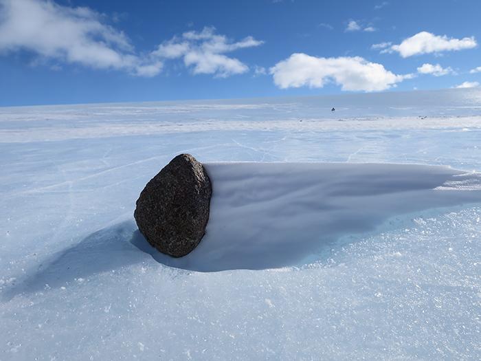 В Антарктиде найдено больше метеоритов, чем где-либо ещё в мире.