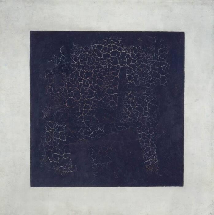 Чёрный квадрат Казимира Малевича, 1913 год. \ Фото: newyorker.com.