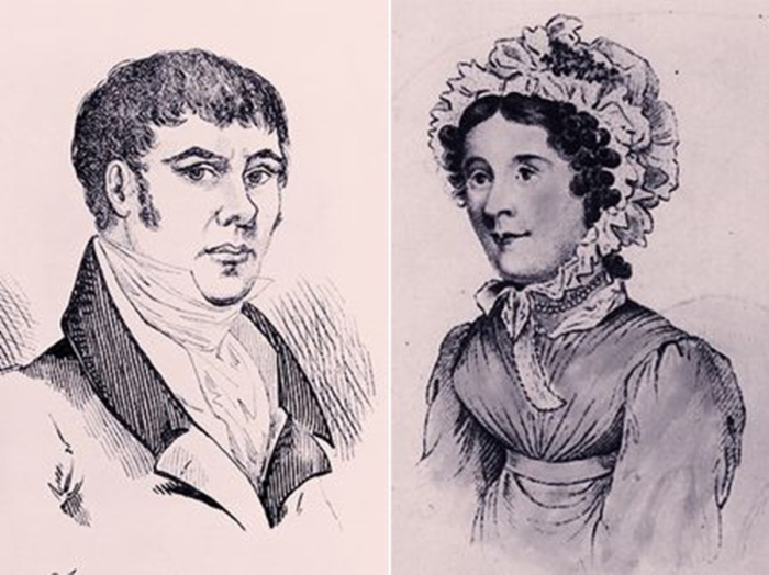 Уильям Кордер и Мария Мартен. \ Фото: iamlejen.com.