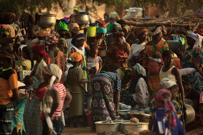 Страна Догонов, Мали, Африка. Автор фото: Uruma Takezawa.
