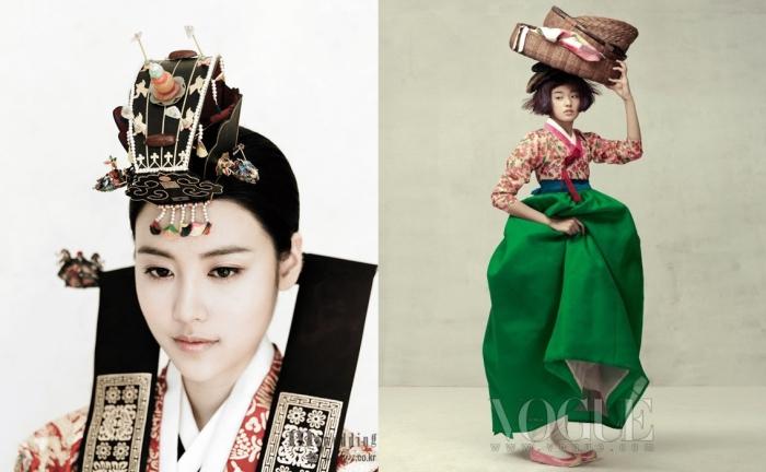 Утонченные девушки. Фотосессия Vogue Корея.