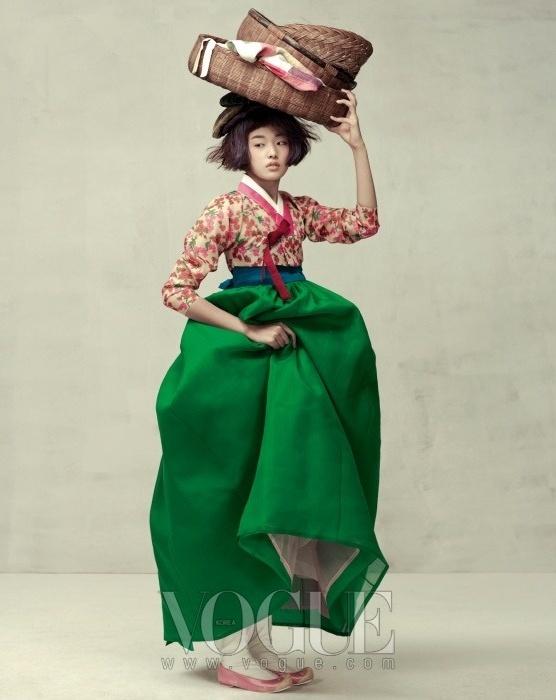 Нежность. Фотосессия Vogue Корея.