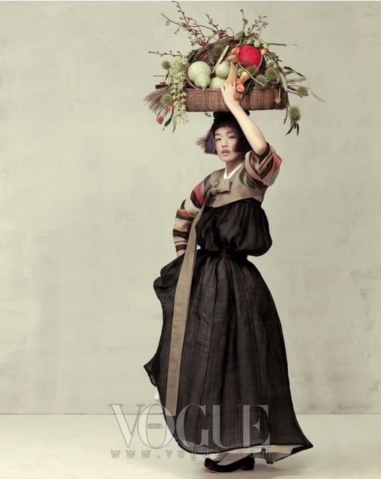 Очарование. Фотосессия Vogue Корея.
