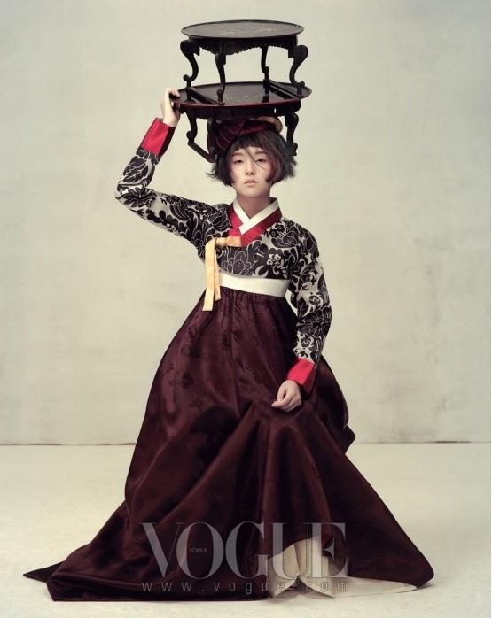 Легкость. Фотосессия Vogue Корея.