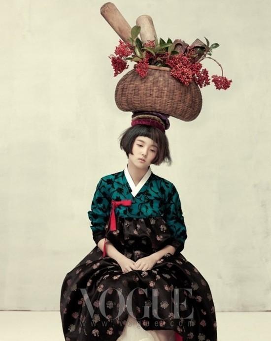 Азиатская хрупкость. Фотосессия Vogue Корея.