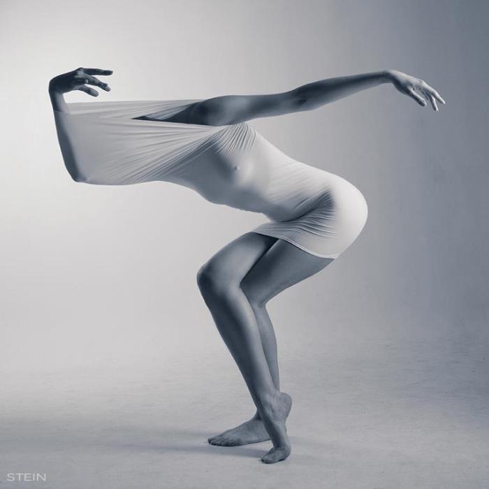 Призрачный танец. Художественные ню фотографии Вадима Штейна (Vadim Stein).