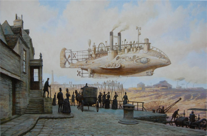 Стимпанк в картинах Вадима Войтеховича  (Vadim Voitekhovitch).