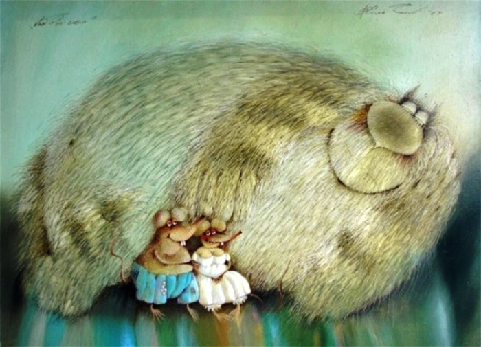 Любовь слепа. Автор: Валерий Хлебников.