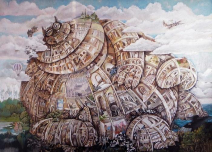 Вавилон. Автор: Валерий Хлебников.