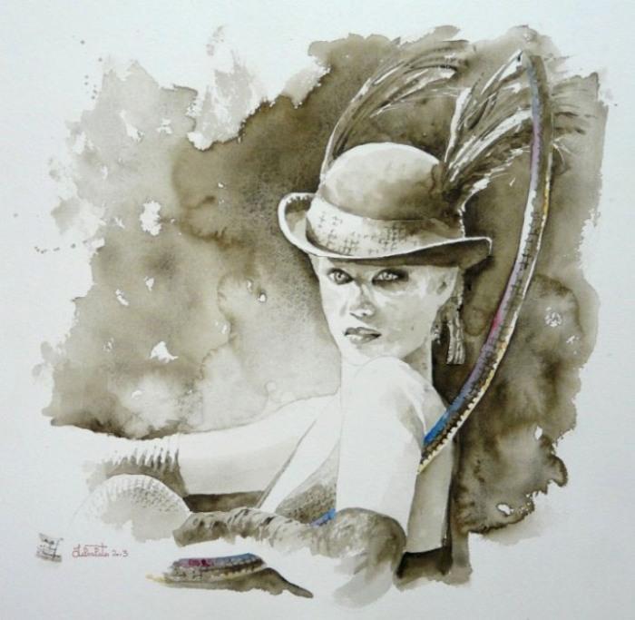 Принцесса цирка. Автор: Valerio Libralato.