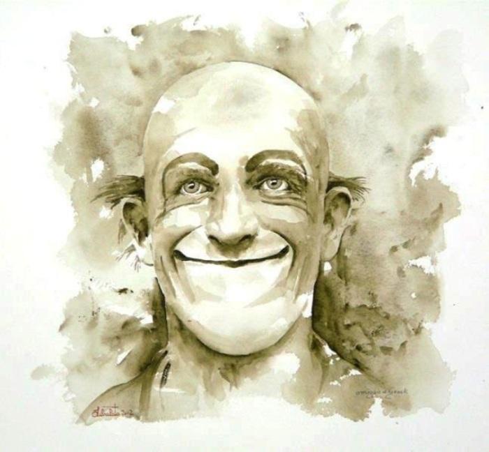 Что за улыбкою твоей..? Автор: Valerio Libralato.