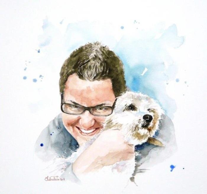 Мой любимый четвероногий друг. Автор: Valerio Libralato.