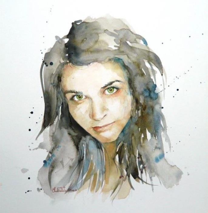 Портрет девушки. Автор: Valerio Libralato.