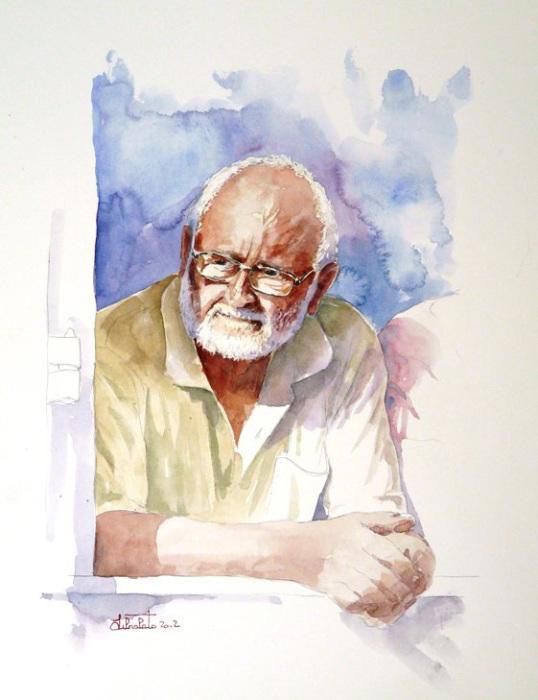Мужчина в окне. Автор: Valerio Libralato.