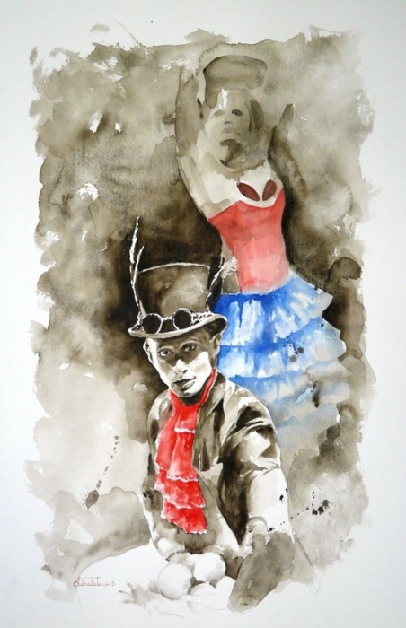 Танец. Автор: Valerio Libralato.