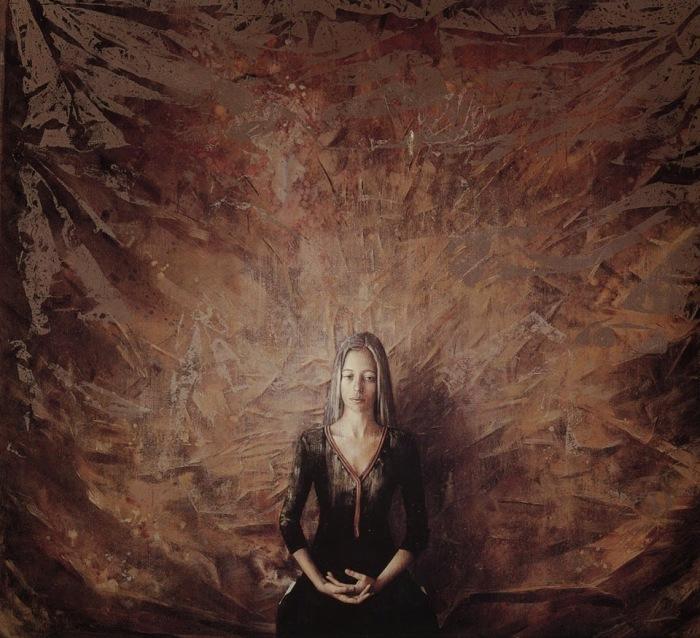 Пленница своего одиночества. Автор: Vangelis Rinas.