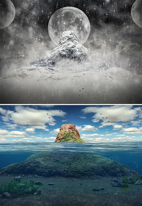 Замёрзший океан. Автор: Vatsal Kataria.