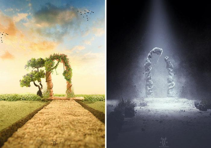 Рай и Ад. Автор: Vatsal Kataria.