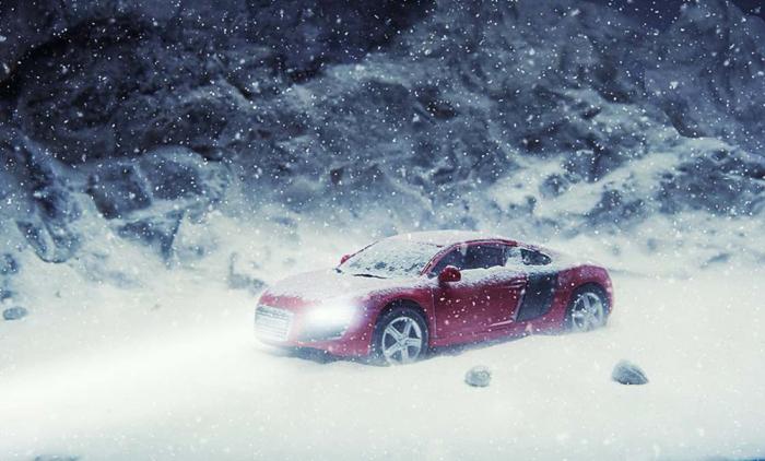 Снегом занесло. Автор: Vatsal Kataria.