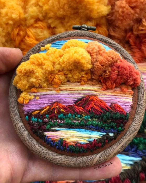Буйство осенних красок. Автор: Vera Shimunia.