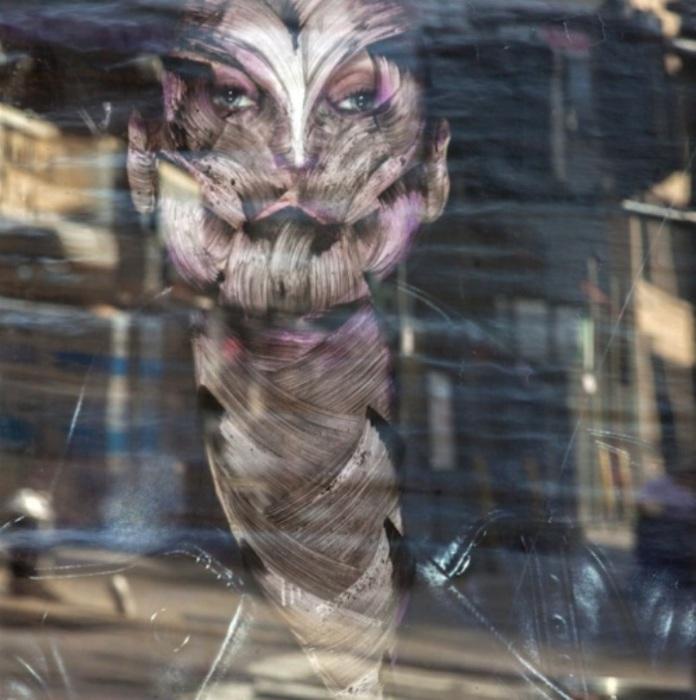 Мрачные работы уличного художника Вермибус (Vermibus).