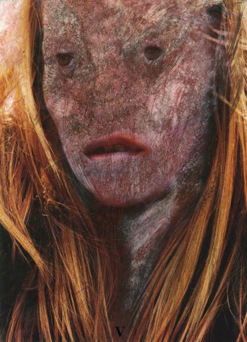 Зомби-портреты в  работах уличного художника Вермибус (Vermibus).