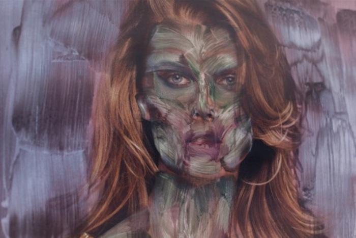 Зомби вместо человеческих лиц. Работы уличного художника Вермибус (Vermibus).