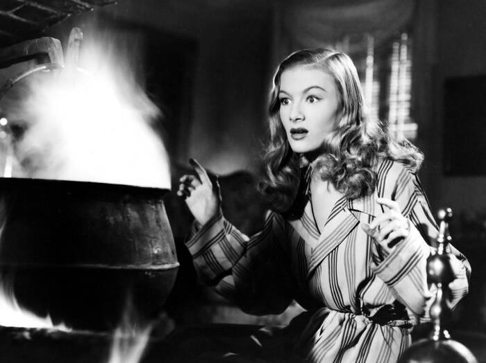 Вероника Лейк в фильме Я женился на ведьме, 1942 год. \ Фото: vanityfair.com.
