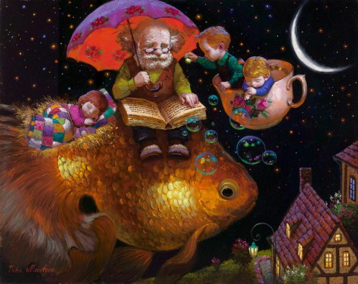 Сказки перед сном. Автор: Виктор Низовцев.