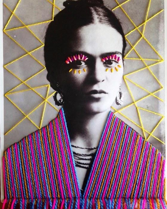 Фрида Кало. Автор: Victoria Villasana.
