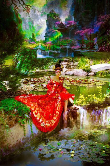 Ян-гуйфэй. Сянь: мифы красавиц. Автор: Viet Ha Tran.