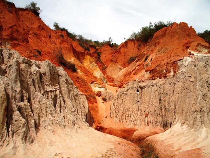 Красный каньон. Фантьет, Вьетнам.