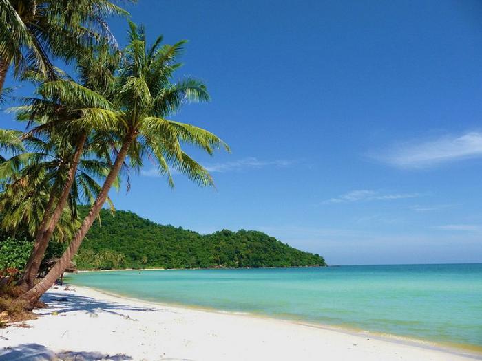 Фу-Куок, белоснежные пляжи.
