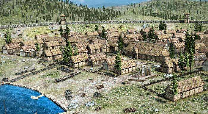 Поселения викингов. \ Фото: mozaweb.com.