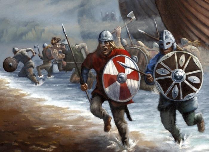 Вторжения викингов на чужие территории. \ Фото: militaryarms.ru.