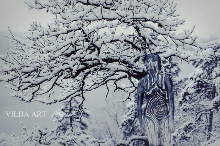 Зима. Автор: Vilija Vitkute.