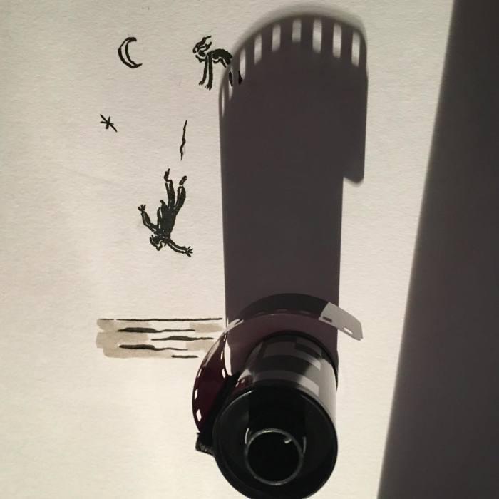 Падение с башни. Автор: Vincent Bal.