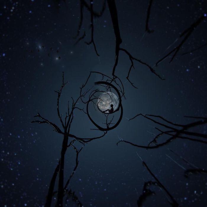Дитя луны. Автор фото: Мелисса Винсент (Melissa Vincent).
