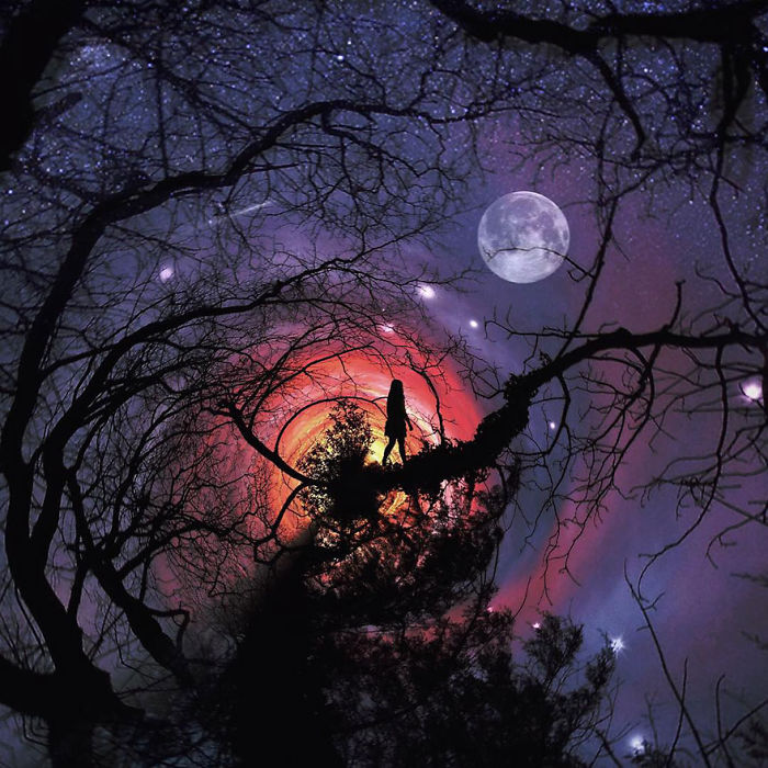 Лунная прогулка. Автор фото: Мелисса Винсент (Melissa Vincent).