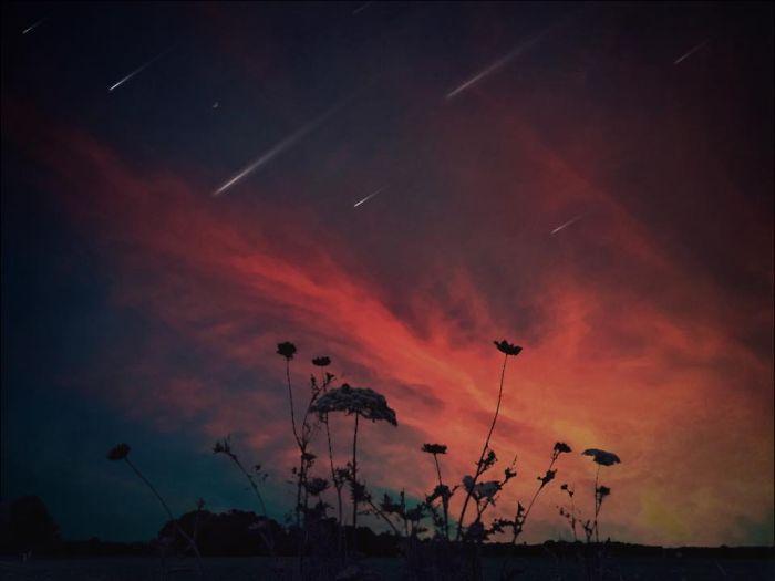 Метеориты. Автор фото: Мелисса Винсент (Melissa Vincent).