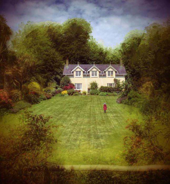 Таинственный дом. Автор фото: Мелисса Винсент (Melissa Vincent).