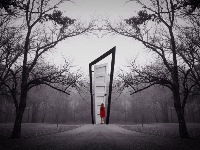 Волшебная дверь. Автор фото: Мелисса Винсент (Melissa Vincent).