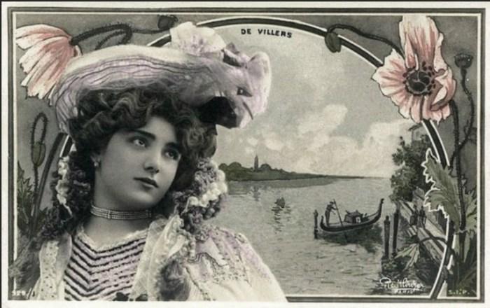 Кармен де Виллерс (Carmen de Villers), 1905 год.