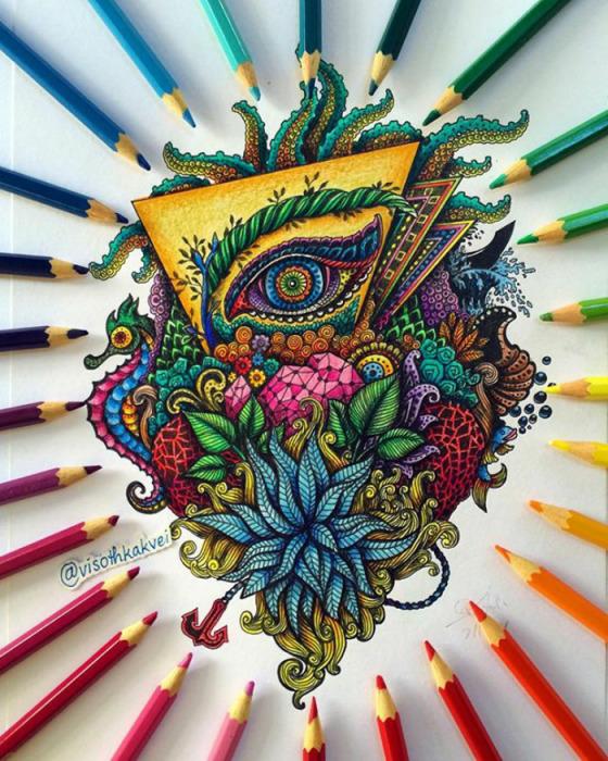 Всевидящее око. Автор: Visoth Kakvei.